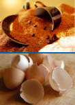 Eco-Tip #1: Use old coffee grinds or egg shells as fertilizer for your home garden.