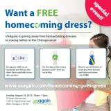 Homecoming goes green at dress giveawayevent