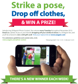 Strike a pose, recycle clothes & win gift cards! USAgain's Photo Contest