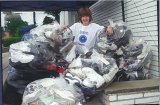 12-year-old EcoErek recycles 3,600 pairs of shoes with USAgain