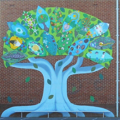 Going green to raise green eco friendly school fundraisers for Mural go green