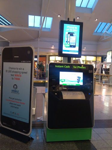This ecoATM is in the Lincolnwood Town Center in Lincolnwood, Ill. (Photo: Shamontiel L. Vaughn)