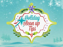 It's safe to say the holidays are over, and it's time for some clean up, a process that can cause quite a bit of stress and anxiety.